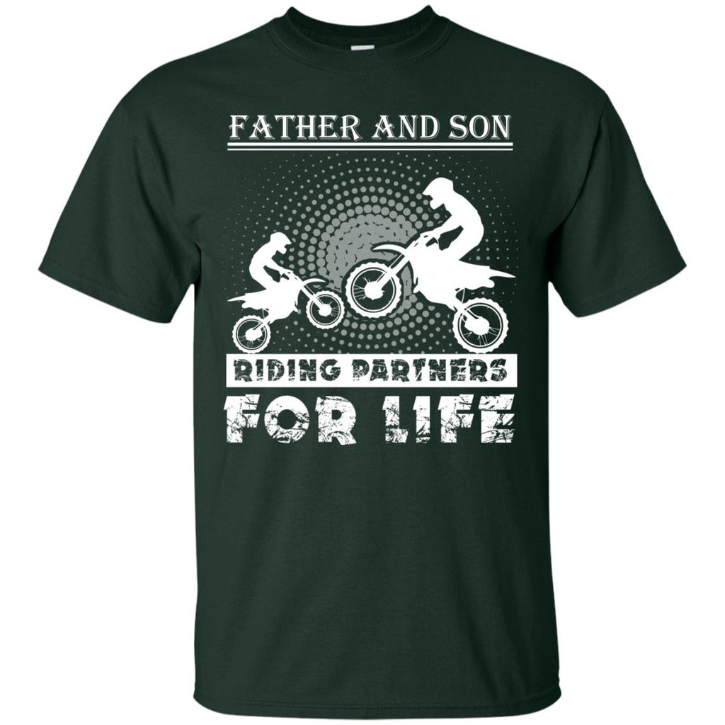 Father And Son Riding Partners For Life Unisex T-Shirt
