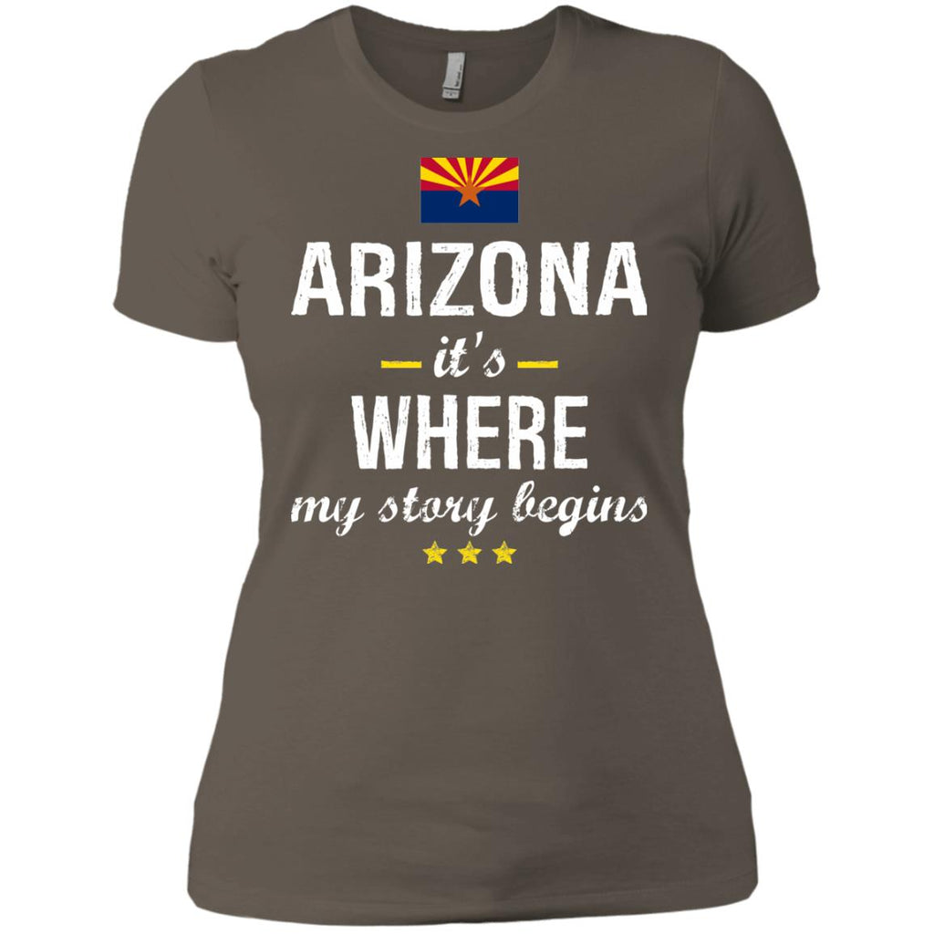 Arizona IT'S WHRE MY STORY BEGINS Classic T-Shirt