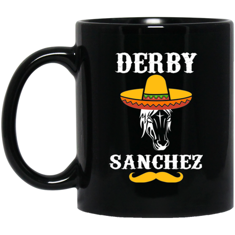 Derby Sanchez Cinco De Mayo Black Mug