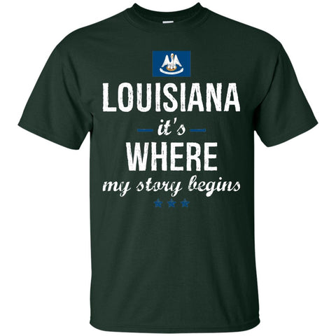 Louisiana IT'S WHRE MY STORY BEGINS Classic T-Shirt