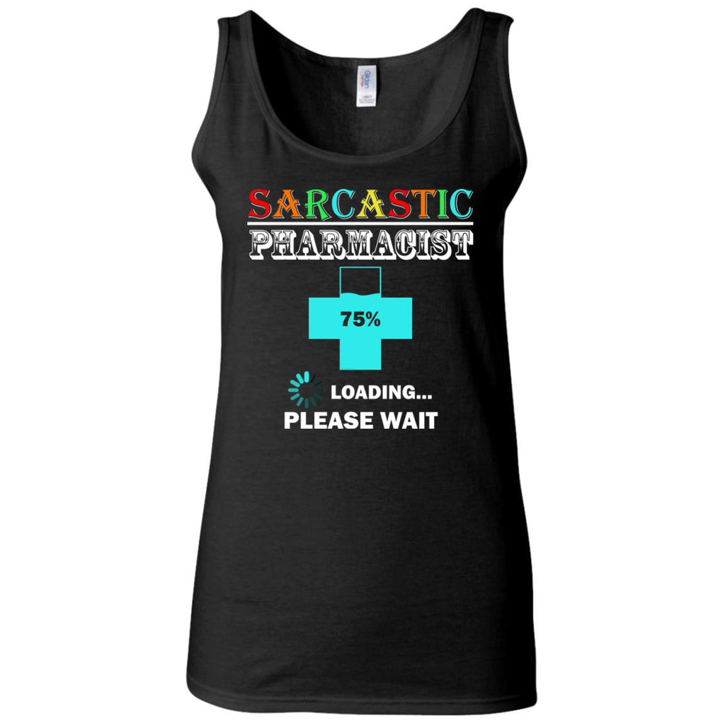 FUNNY PHARMACIST Women's Fitted Tank