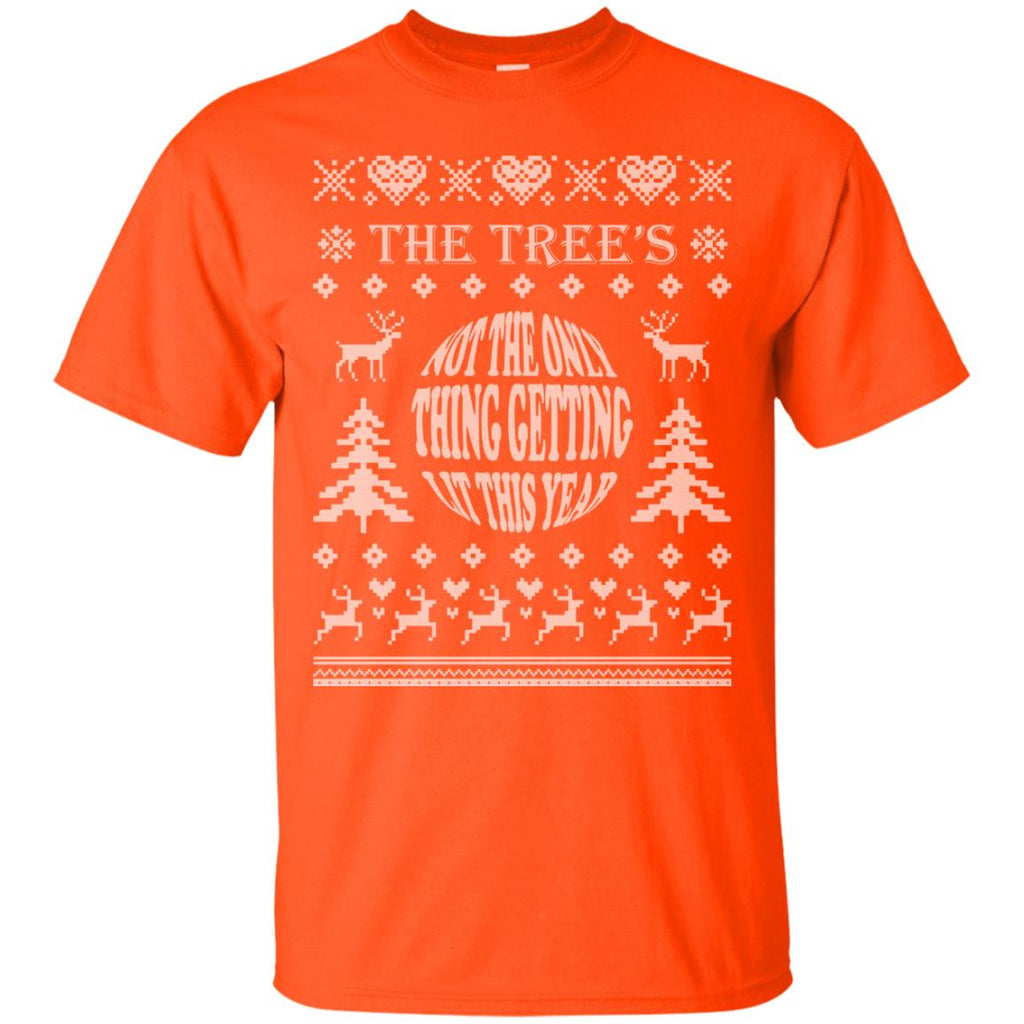The tree's not the only thing getting lit this year 2 Unisex T-Shirt