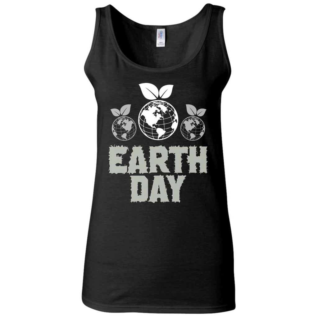 National Earth Day 2 Women's Fitted Tank