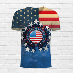 Independence Day 4th of July 3d T-Shirt