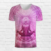Image of Lotus Buddha Yoga Tee 3d T-Shirt