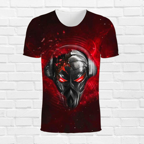 NEWISTAR Unisex 3D Printed Summer Casual Short Sleeve  3d T-Shirt