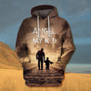 Image of angel my kid hoodie