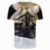 Image of Pug sad 3d T-Shirt