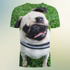 Image of Pug smile 3d T-Shirt