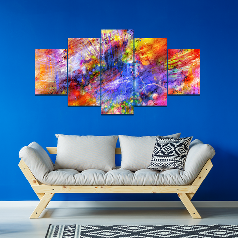 Color Framed  Canvas