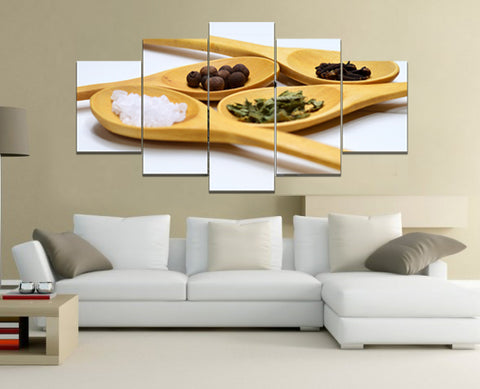 Cooking Framed Canvas