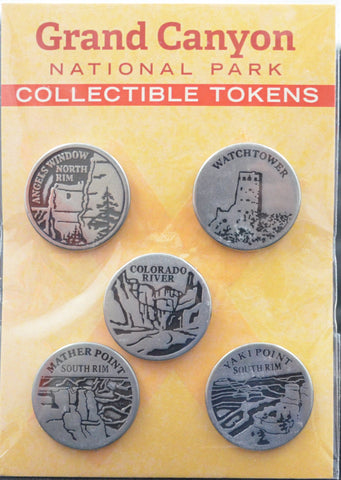 Grand Canyon National Park Token Set