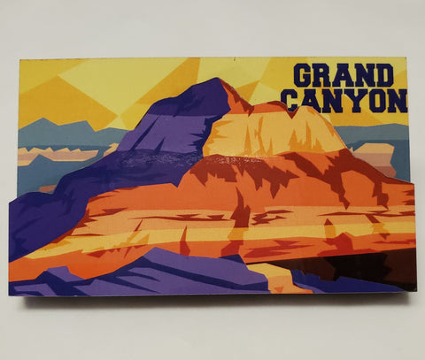Grand Canyon 2D Wood Magnet