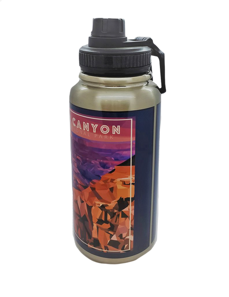 Grand Canyon Stainless Steel 32 oz Water Bottle