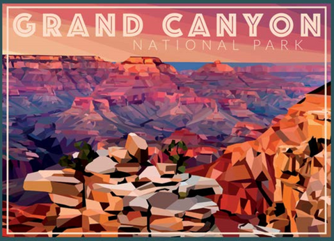 Grand Canyon Geometric Design 1000 pc Puzzle
