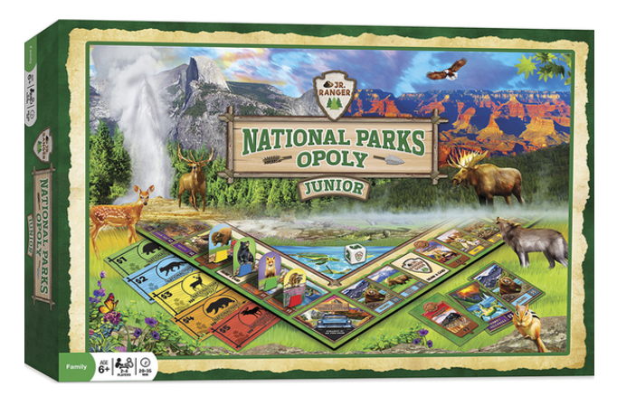National Park Opoly Junior Board