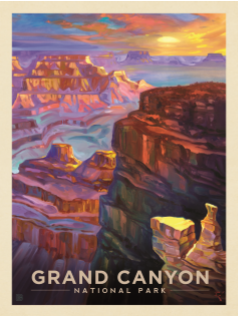 Grand Canyon Kai Carpenter Sunset 1000 pc puzzle