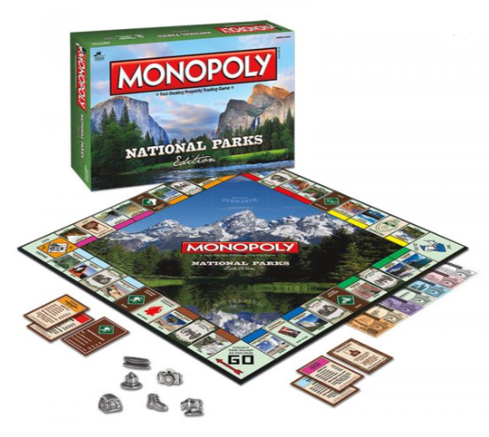 National Parks Monopoly® Game