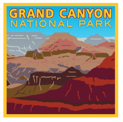 Grand Canyon National Park Decal
