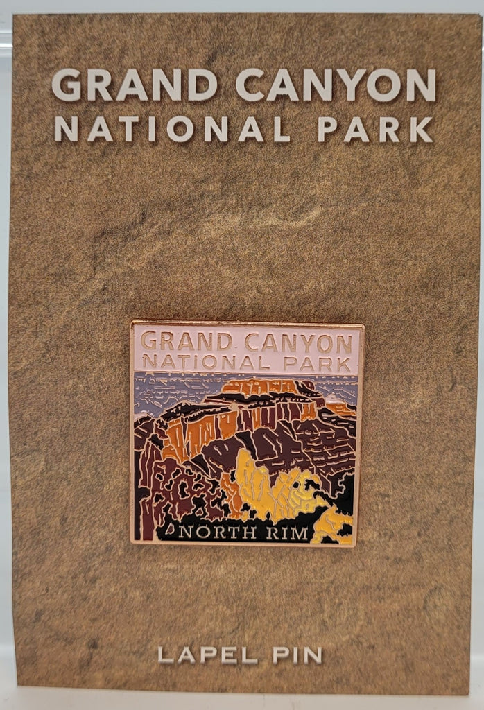 Grand Canyon North Rim Lapel Pin