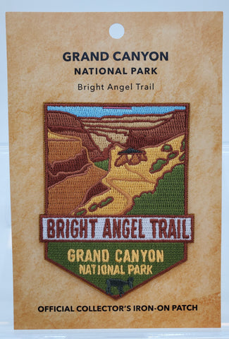 Bright Angel Trail: Grand Canyon National Park Patch