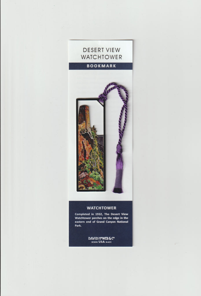 Watchtower Metal Bookmark