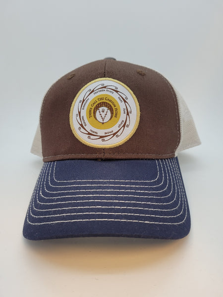 Tribal Medallion Cap