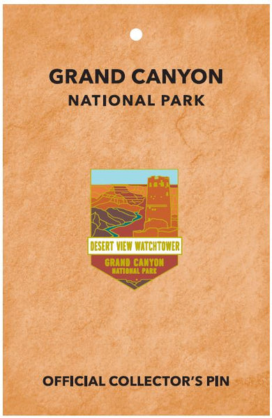 Desert View Watchtower Pin
