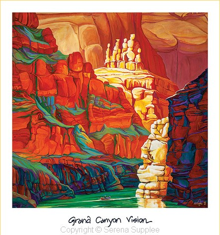Serena Supplee Print -  Grand Canyon Vision