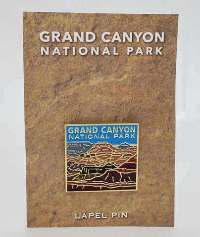 Grand Canyon National Park Lapel Pin
