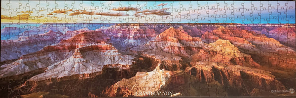 Grand Canyon Wood Panoramic Puzzle with Wood Box, 363 pcs