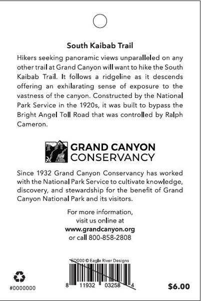 South Kaibab Trail: Grand Canyon National Park Patch