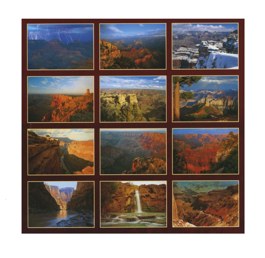 Grand Canyon National Park Postcard Set
