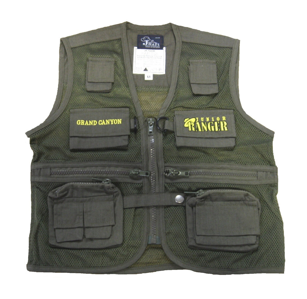 Grand Canyon Junior Ranger Vest, Green