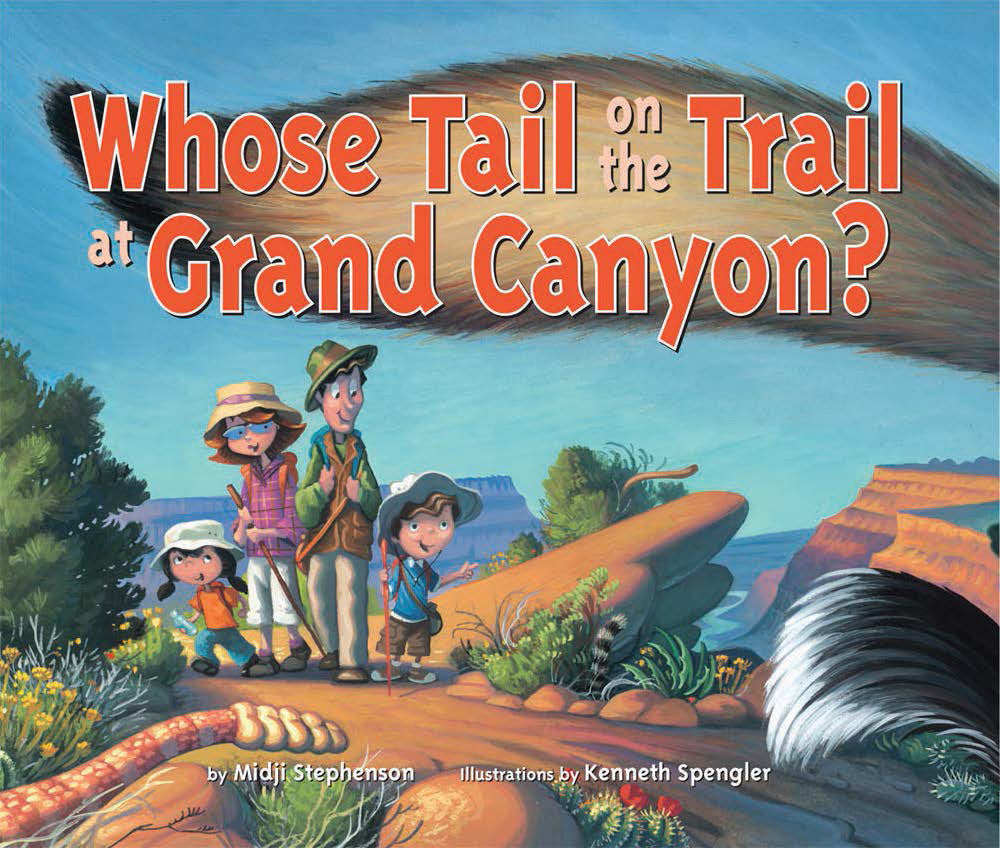 Whose Tail On the Trail at Grand Canyon