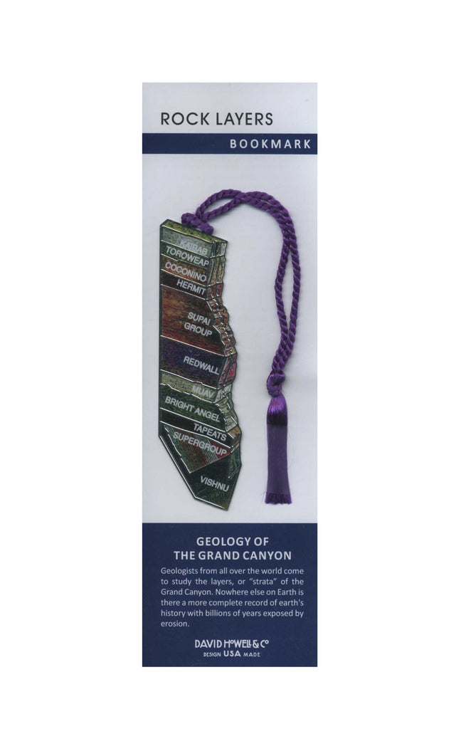 Rock Layers Bookmark