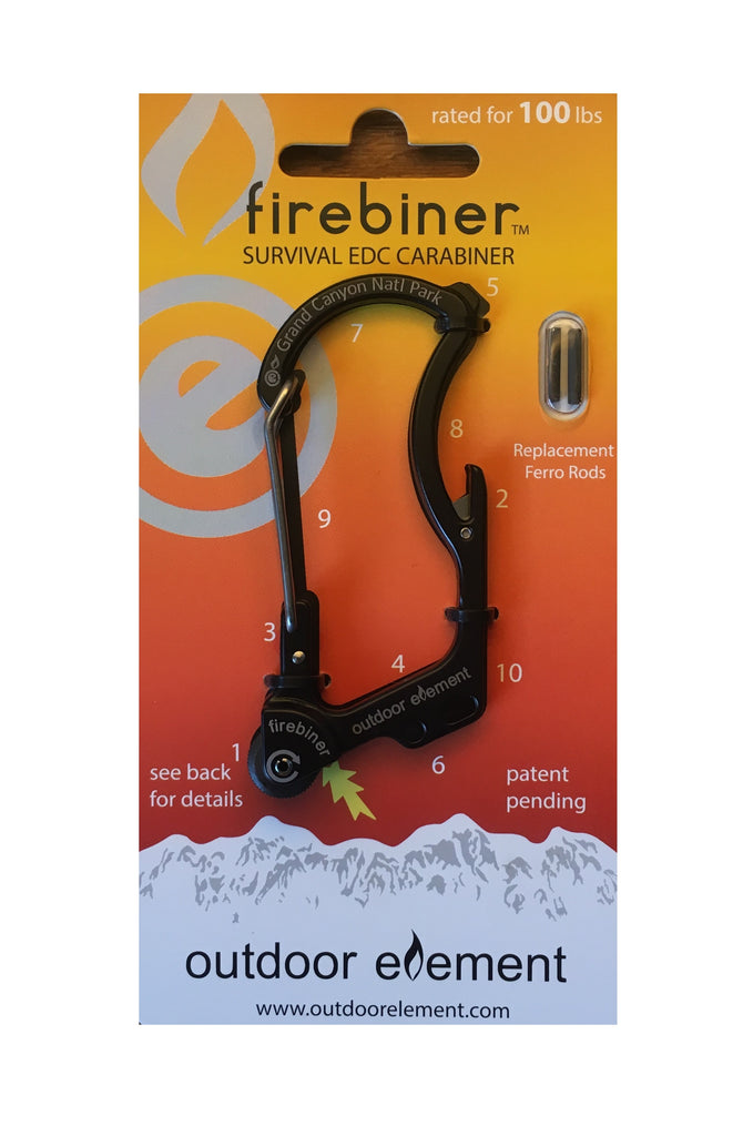 Grand Canyon National Park Firebiner Survival Carabiner