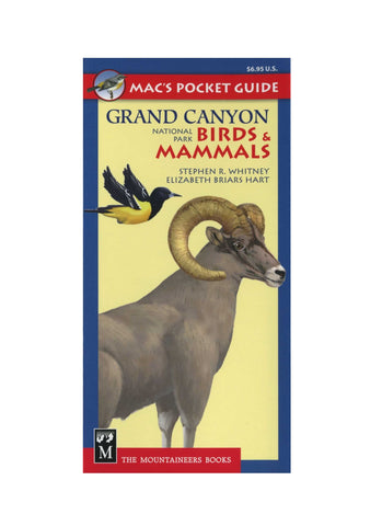 Mac's Pocket Guide: Grand Canyon Birds & Mammals