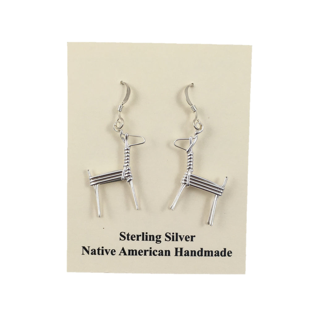 Split Twig Earrings, Small