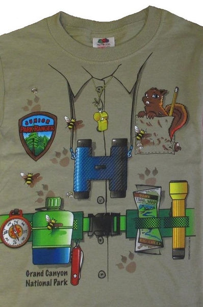 Junior Ranger Snap-on T-shirt, Green