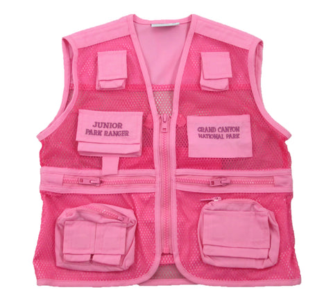 Grand Canyon Junior Ranger Vest, Pink