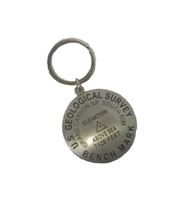 Benchmark Keychain, Grand Canyon NP, South Rim