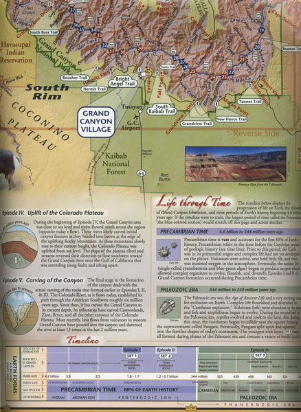 Grand Canyon Map & Guide