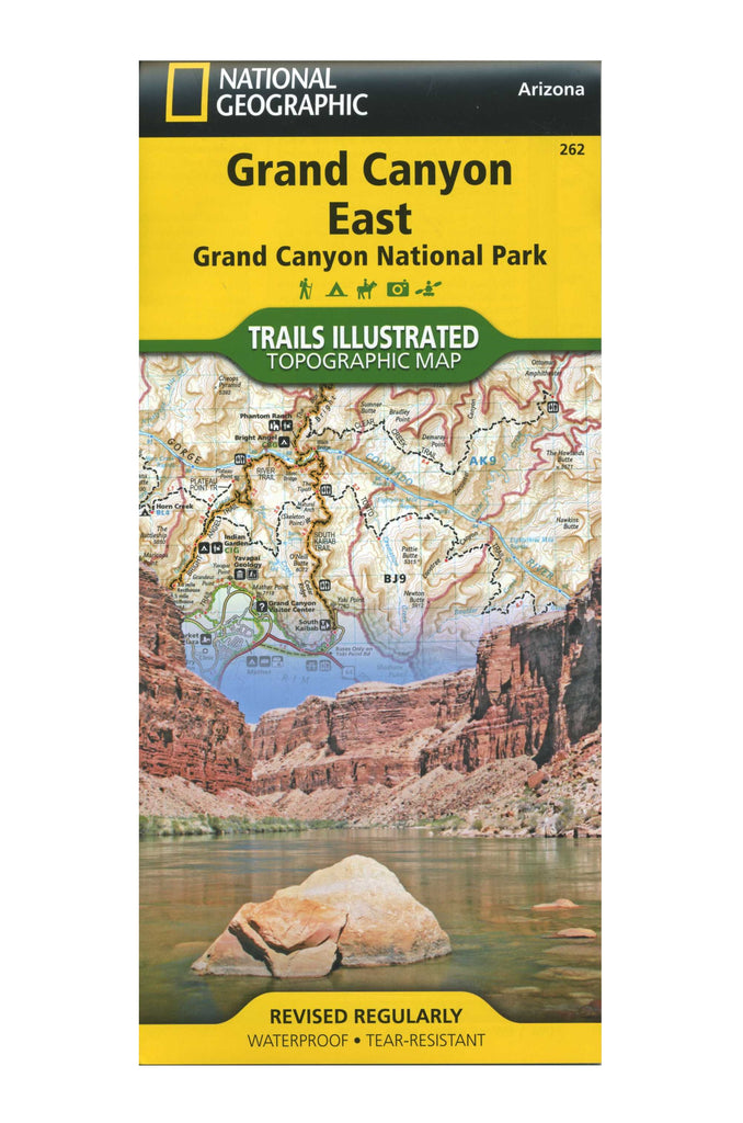 Grand Canyon East, Nat Geo Map #262