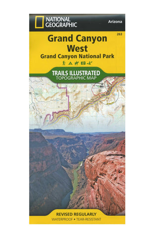 Grand Canyon West, Nat Geo Map #263