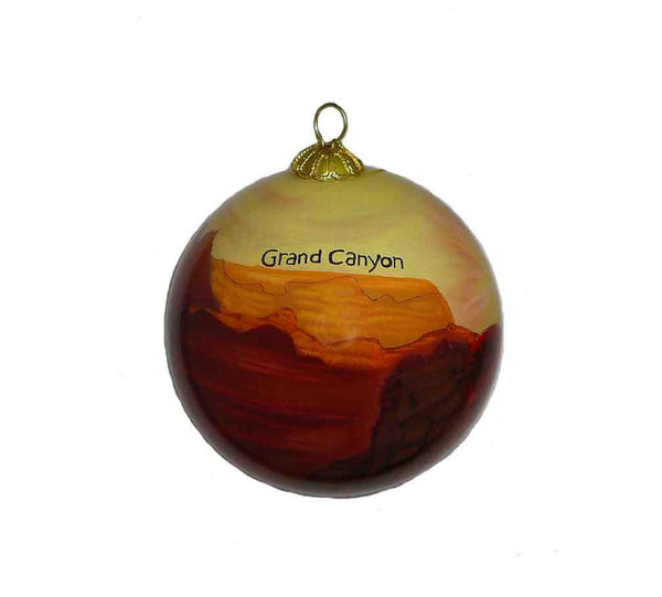 Grand Canyon Hand Painted Ornament