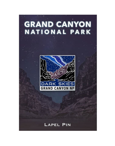 Dark Skies Pin, Grand Canyon National Park