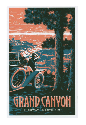 Grand Canyon, North Rim Poster