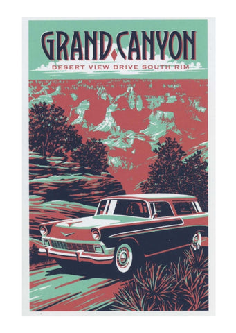 Grand Canyon, Desert View Drive, South Rim Poster