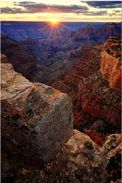 Grand Canyon National Park Metal Prints - Cape Royal